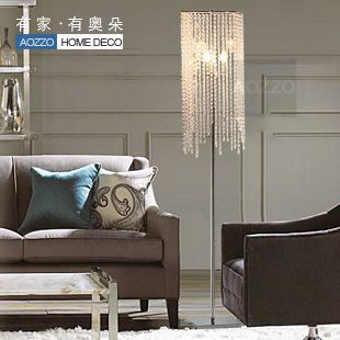 Luxury crystal floor lamp living room lamps bed-lighting floor lighting 10008 $1,526.30