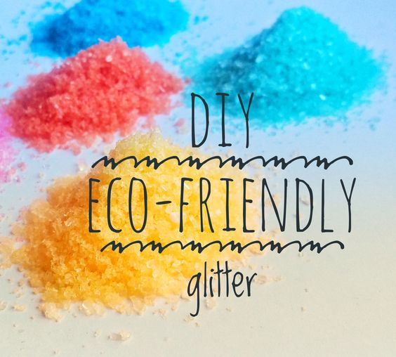 Don't give up the sparkles yet! Making your own glitter is a fabulous eco-friendly alternative to traditional glitter. It is kid safe, low waste, cheap and eas