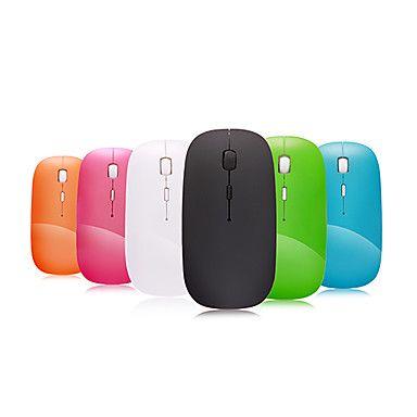 Mouse Ótico Sem Fios (Super Fino, 2.4GHz, Várias Cores) – BRL R$ 25,00 (Frete grátis para todo o Brasil)