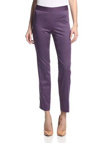 Façonnable Women's Slim Ankle Pants (Violet)