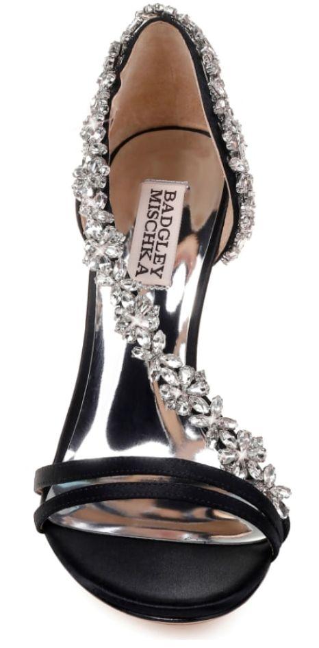 Badley Mischka Voletta Crystal Embellished Sandal