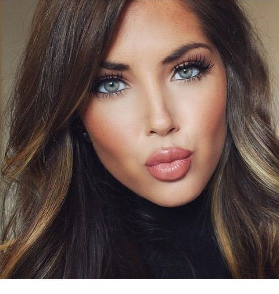 Makeup For Blue Eyes And Brown Hair Fresh Wedding Makeup Fall