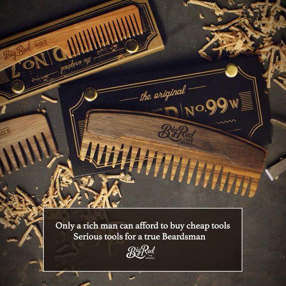 Buy quality the first time and you'll only have to buy once. #bigredbeardcombs #beard #beards #bearded #beardcomb #pocketcomb #woodcomb #comb  #girlswholovebeards #gentlemen #facialhair #beardcare #menstyle #mensstyle #mensfashion #mensgrooming #Beardstagram #beardsofinstagram #noshave #beardstildeath