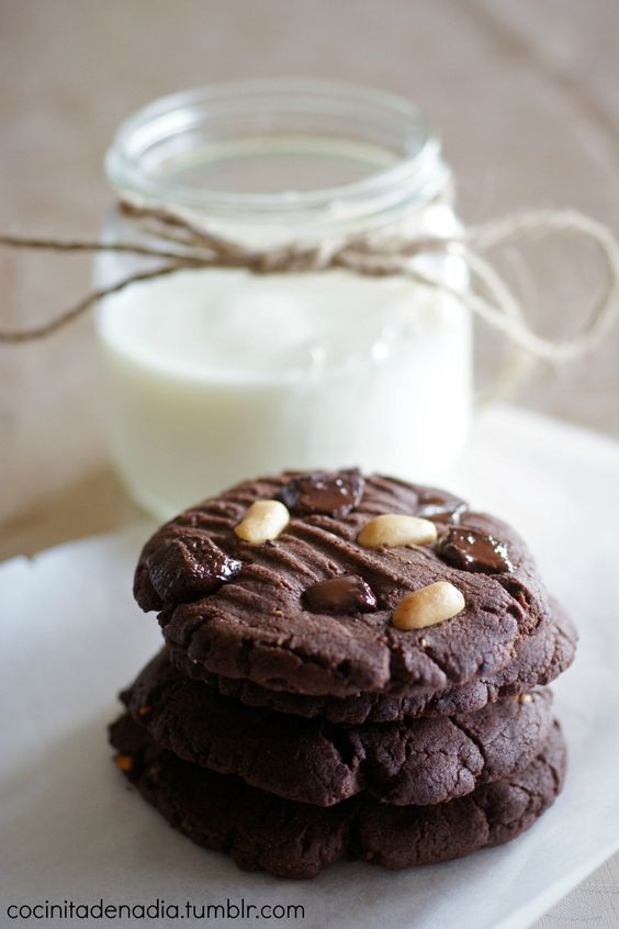Peanut butter & chocolate overload cookies