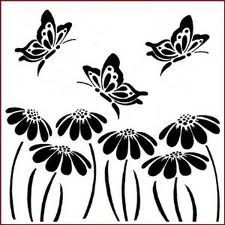 butterfly stencil template