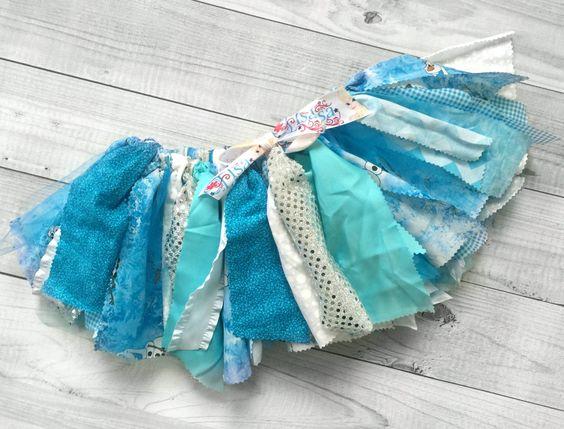 Olaf Mix Fabric Scrap Tutu Skirt