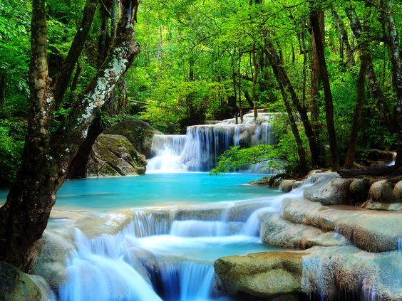 best Waterfalls images on Pinterest Beautiful places Nature