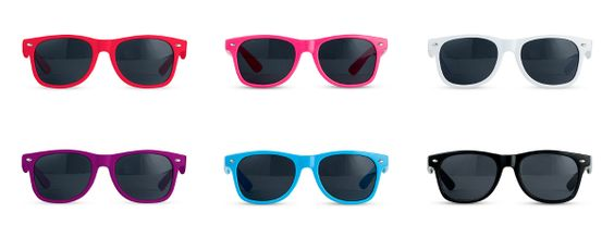 Fun Shades Sunglasses With Different Color Choices from HotRef
