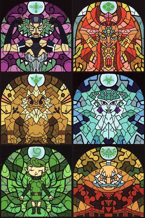 Sages in Stained Glass