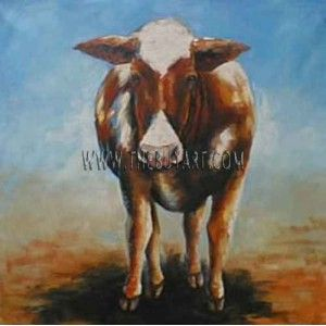 Abstract Cow TB625