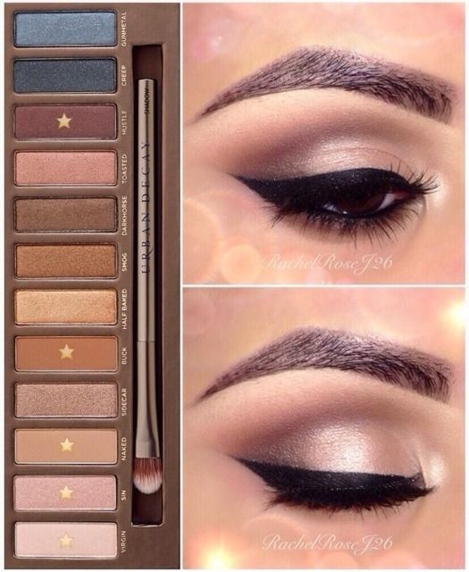 Naked Palette. Nice neutral look for everyday wear: