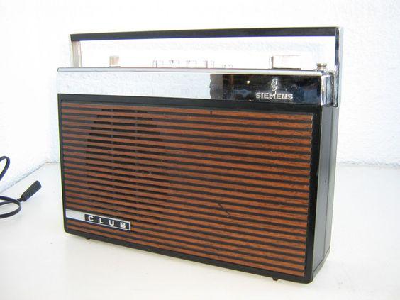 vintage radio siemens club rk 24 von leuchten klinik heidelberg auf. Black Bedroom Furniture Sets. Home Design Ideas