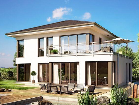 Die 25+ Besten Moderne Fertighäuser Ideen Auf Pinterest | Satteldach Modern,  Mehrfamilienhäuser Und Satteldach