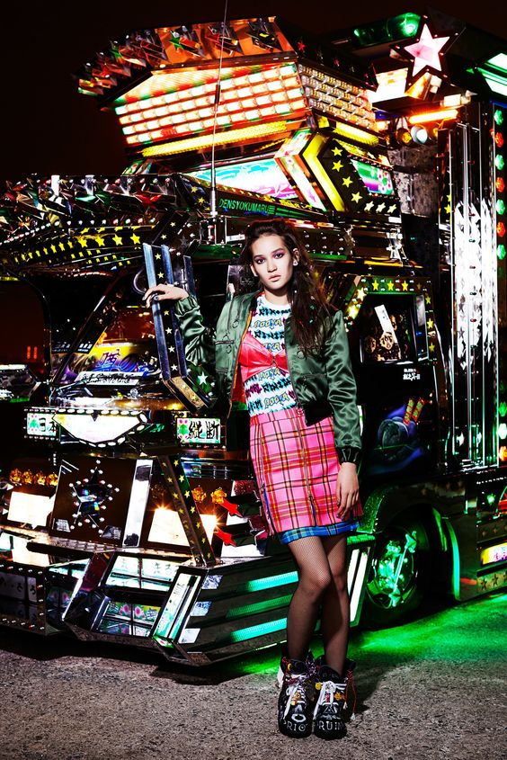 House of Holland Pre-Fall 2015 Fashion Show - Mona Matsuoka