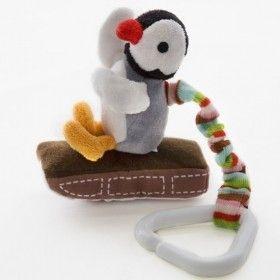 Pingu kinderwagenhanger - prettymum