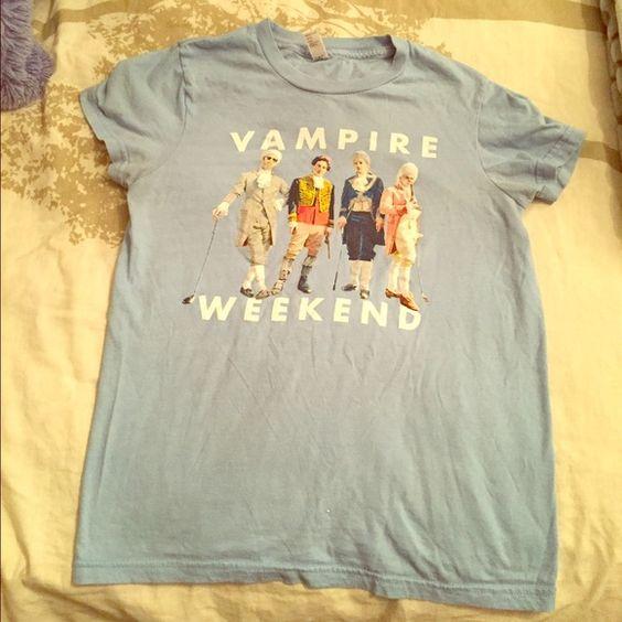 BOGO vampire weekend band t-shirt Favorite! American Apparel Tops Tees - Short Sleeve