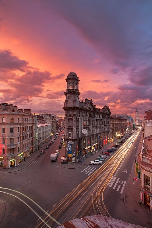 Long Exposure Photos of Saint Petersburg by Sergey Louks