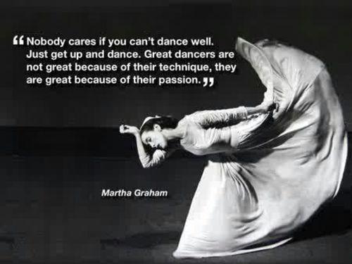 good old Martha Graham