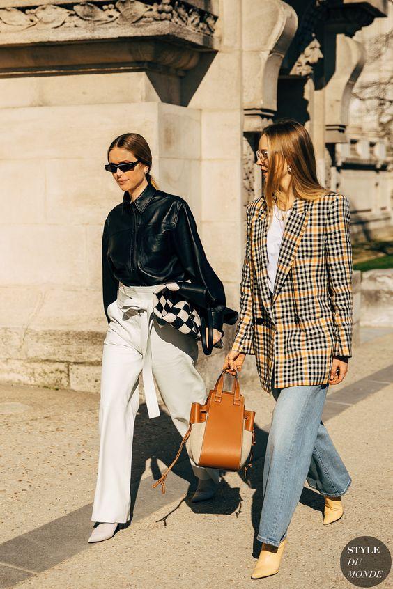 Paris FW 2019 Street Style: Pernille Teisbaek - STYLE DU MONDE | Street Style Street Fashion Photos Pernille Teisbaek