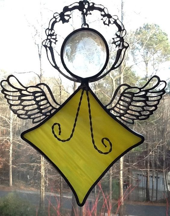 Angel in Glass by jpglass on Etsy