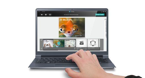 SlideDog é uma ferramenta de apresentação multimídia que permite combinar apresentações em PowerPoint, arquivos PDF, apresentações Prezi, clipes de filmes,, páginas web, e muito mais em uma inovadora experiência de visualização perfeita.