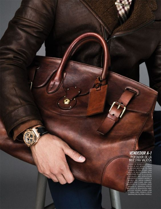 5 Bag's Every Man Should Own, men's bag, men's work briefcase