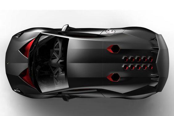 Lamborghini's 999kg Sesto Elemento Concept