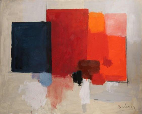 São Mamede - Galeria de Arte  Manuel Salinas Sem Título 160) 3 Óleo x Tela 130 cm x 162 cm