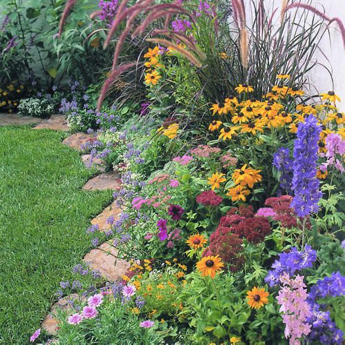 Pinterest the world s catalog of ideas for Grass plants for flower beds