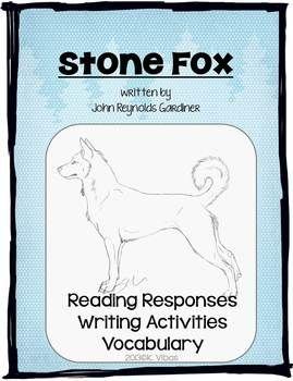 Stone Fox - Worksheets & Activities - Super Teacher Worksheets