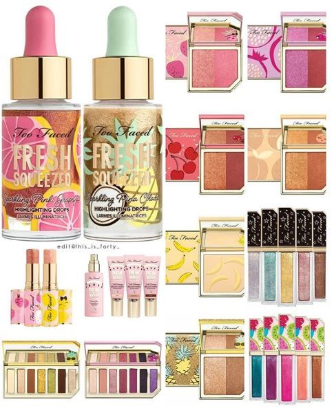 WOW just look at this amazing makeup collection by Too Faced. So many amazing colors and ideas that gives us so much inspiration to create new makeup looks for the summer! Need a tutorial or guide on how to use them all!