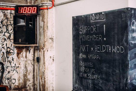 Heldth x Axt Crossfit – Movember Workout | Heldth