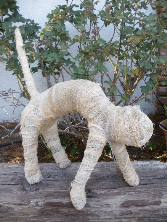 2nd mummy cat completed