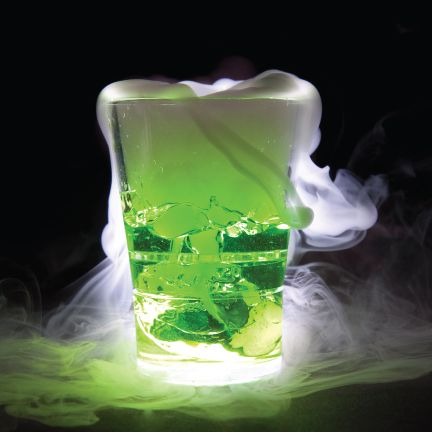 How To Make Drinks Smoke With Dry Ice