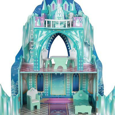 frozen toys elsa doll house ice castle dollhouse disney