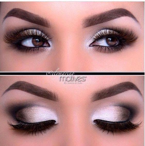 Wedding Makeup Hazel Eyes : Beautiful Smokey Eye Make up for Brown Eyes makeup ...