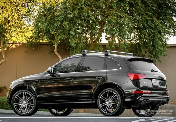 "Audi Large SUV | 2014 Audi SQ5 with 22"" CEC C883 SUV in Black (Magic) wheels"
