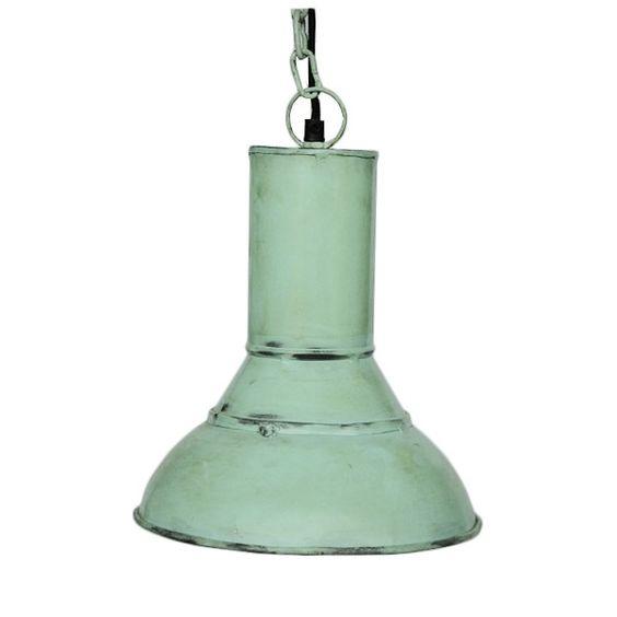 Industrielampe Mint - Wohnen - Shabby-Style.de