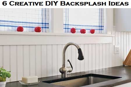 Backsplash ideas alternative to and alternative on pinterest - Creative tile kitchen backsplash ideas ...