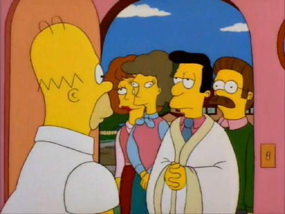 -Ay no me van a hablar de Jesús verdad?  -todo habla de jesus homero