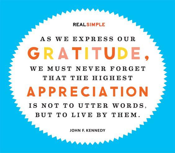 John F Kennedy Gratitude Quote: Pinterest • The World's Catalog Of Ideas