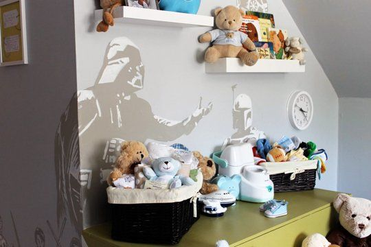 May the Force Be In Your Room: Star Wars Nurseries & Kids' Bedrooms