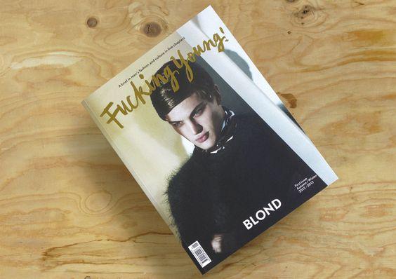 Bronce Laus 2013 | Publicación periódica |  Título: Fucking Young! Magazine |  Autor: Folch Studio |  Cliente: Fucking Young!