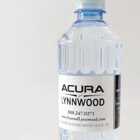 Custom Bottled Water For Car Dealerships Cardealer Promotion Branding Custom Water Bottles Bottle Bottle Labels