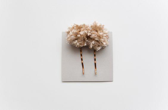 Hand made hair clips