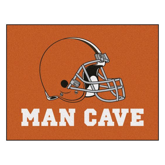 Man Cave Facebook : Man cave all star area rug cleveland browns products