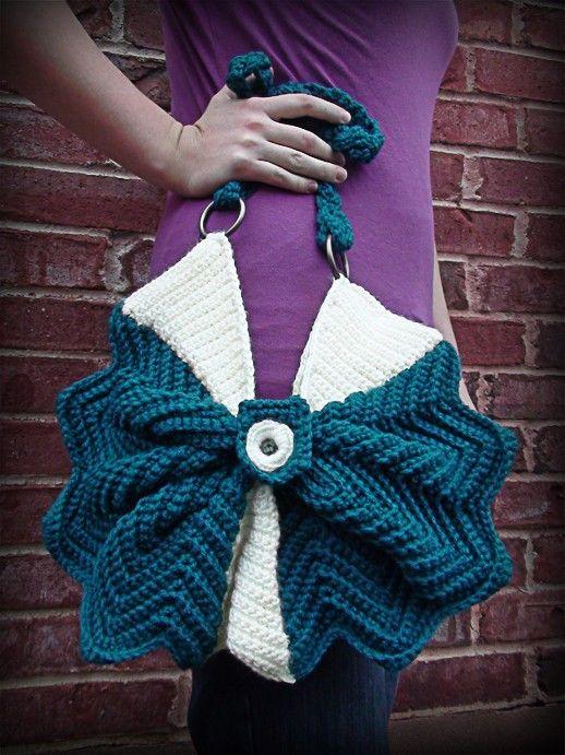 bolsa em crochet #cereshandmade #crochetfashion