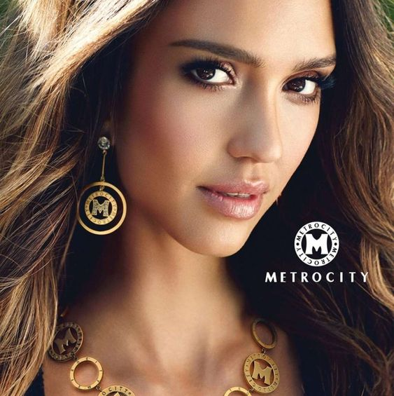 Jessica Alba: Metrocity Campaign 2015 -01