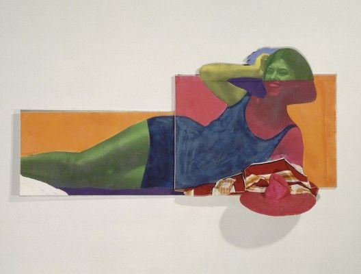 Martial Raysse, Soudain l'été dernier, 1963 Centre Pompidou, Musée national d'art moderne, Paris Ph: © Centre Pompidou, MNAM-CCI, Dist. RMN-Grand Palais / Droits réservés © Martial Raysse by SIAE 2015