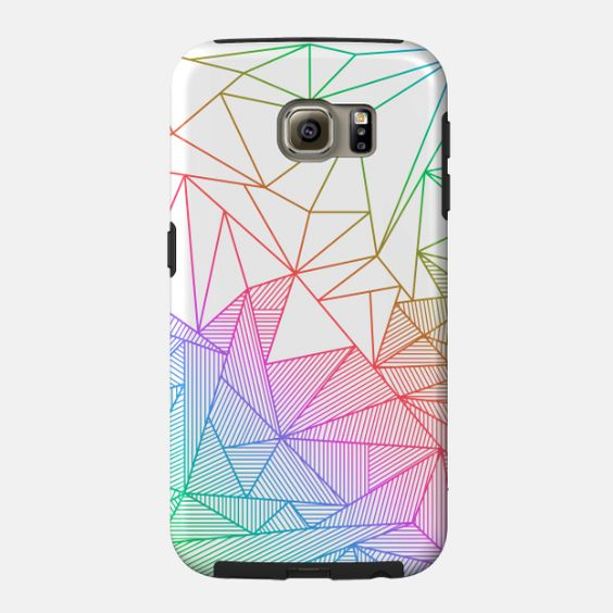 Billy Rays Samsung case by Fimbis available from Teepublic #rainbow #geometric #colorful #samsunggalaxy #samsunggalaxys6